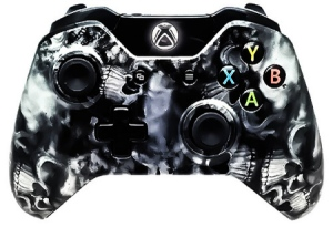 6000 Mode Xbox One Modded Controllers Black Skulls